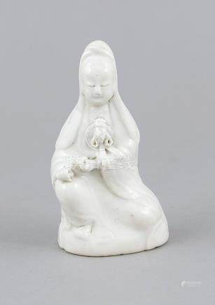 Small Blanc-de-Chine Guanyin, China, 19th century or earlier