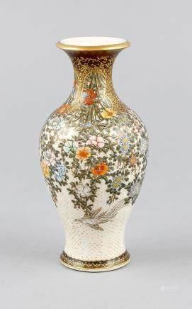 Small Satsuma vase, Japan, 1st half of the 20th century, ver