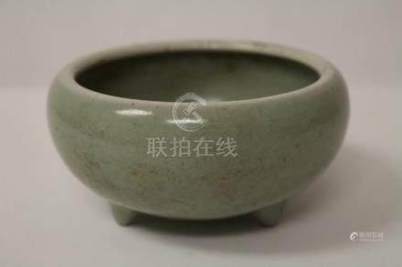 Chinese antique porcelain tripod brush wash