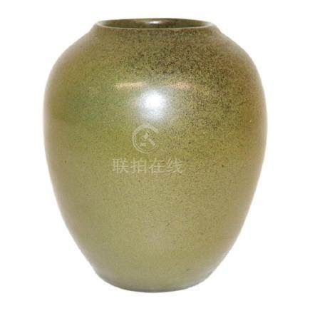 Jugtown Frogskin Glazed Vase