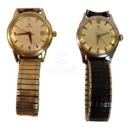 2 Omega Vintage Mens Watches