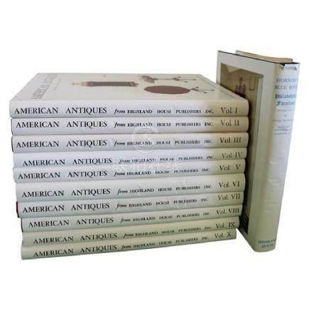 American Antiques Israel Sack 10 Volumes