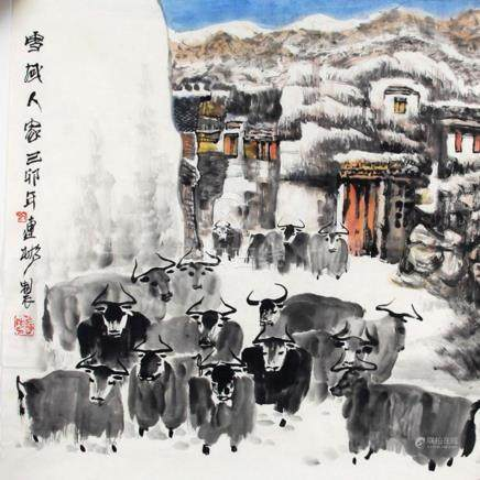 JI LIAN BIN, CHINESE PAINTING ATTRIBUTED TO