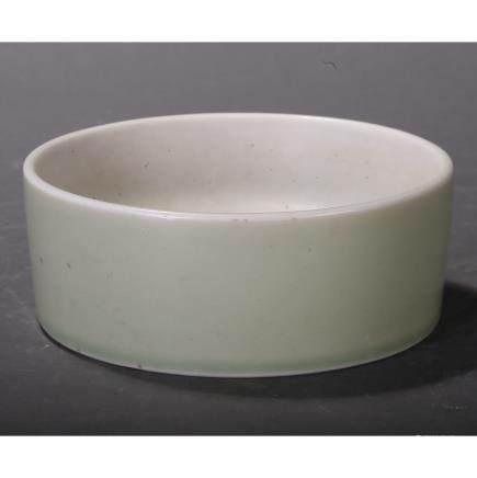 CHINESE WHITE GLAZED PORCELAIN BRUSH WASHER