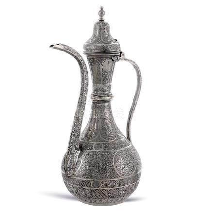 Silver jug Turkey, 19th - 20th century