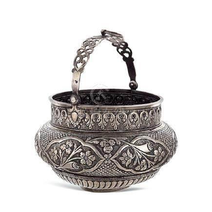 Silver bowl for Hammam Oriental art,