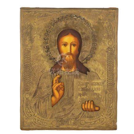 Icon depicting the Pantocrator Christ