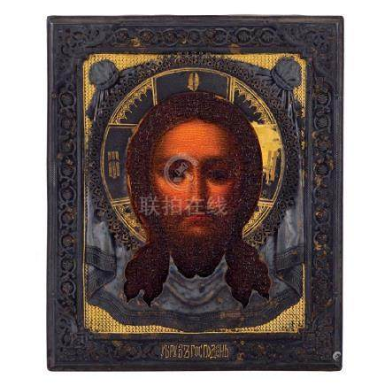 Icon depicting the Christs' face