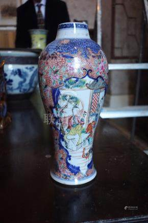 A PAIR OF CHINESE EXPORT VASES