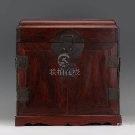 CHINESE HARDWOOD HUANGHUALI BOOK CASE