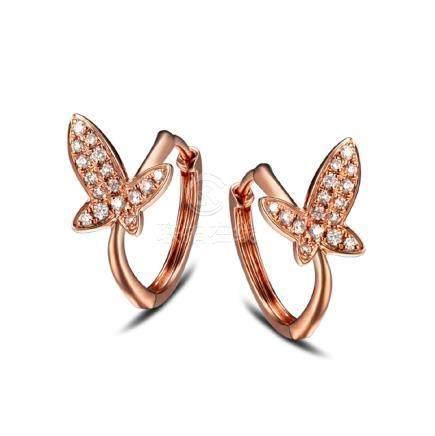Gold & Diamonds Earrings