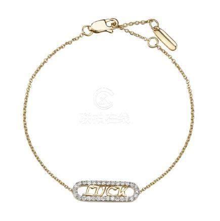 Gold & Diamonds Bracelet