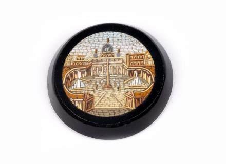 Micromosaico raffigurante San Pietro racchiuso su