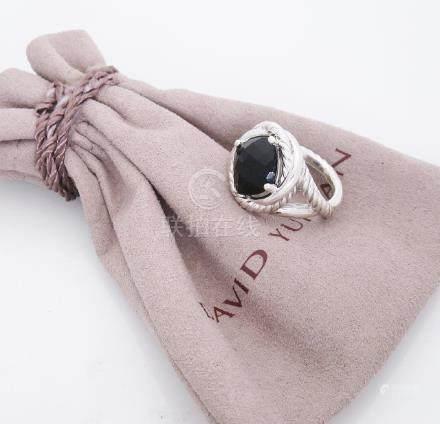 David Yurman Sterling silver Infinity Black Onyx (11