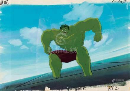 Marvel celluloid film¡GHulk
