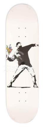 Banksy, flower bomber deck