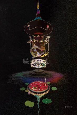 Takashi Murakami, Reversed Double Helix-Black
