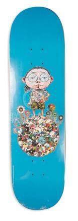 Takashi Murakami, vans deck
