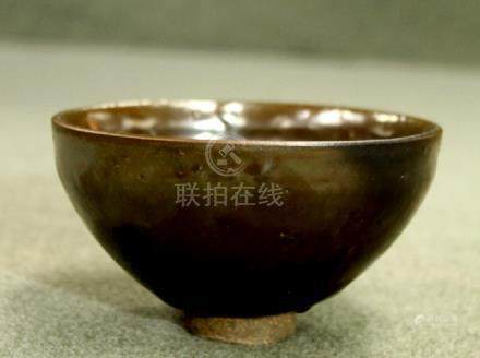 Song Dynasty Brown Glazed Bowl