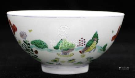 Chinese Porcelain Doucai Bowl/chenghua mark