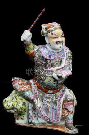 Chinese Fencai Figure