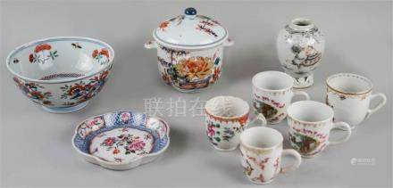GROUP OF CHINESE EXPORT PORCELAIN, 18TH CENTURY
