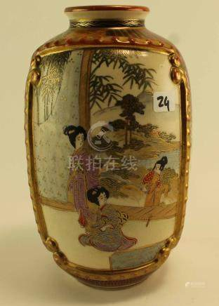 (Asian Antiques) Satsuma vase