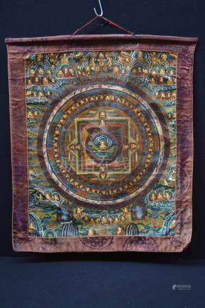 ( Asian art ) Handpainted TibetanThangka