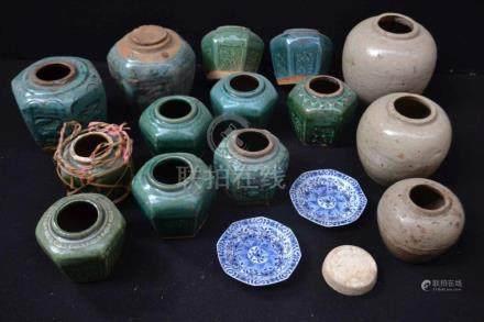 (Asian antiques) Ginger jars