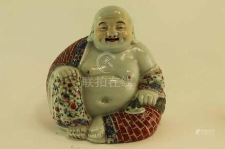 (Asian antiques) Happy Boeddha