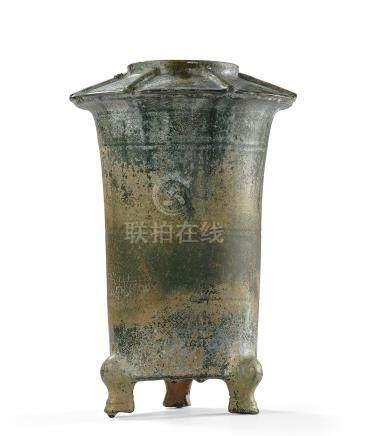 漢 綠釉瓦黍倉