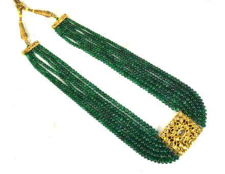 Indian Gold & Gemstone Necklace