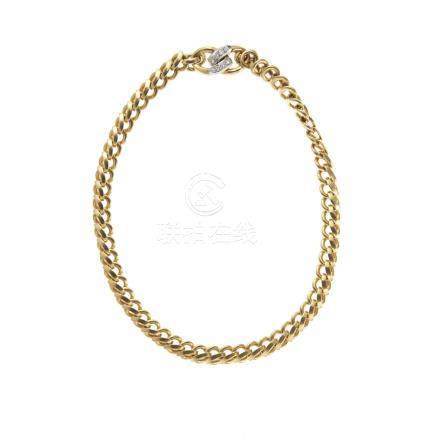 Gold and diamond necklace, Pomellato
