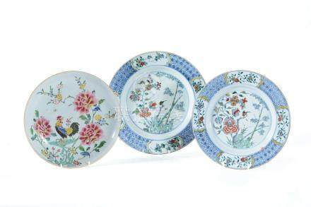 A Chinese 'Famille Verte' dish, 18th century
