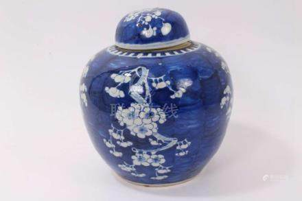 Early 20th century Chinese export blue and...