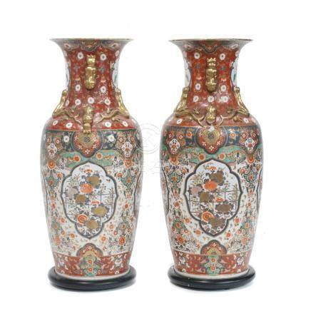 PAIR OF CHINESE PORCELAIN VASES, SECOND PART OF 20TH CENTUR