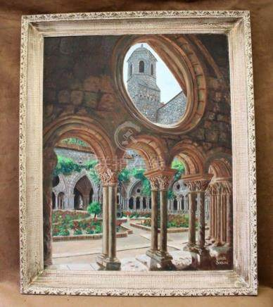 "Loulette Sablon "" Fontfroide Abbey Cistercian Monastery Fran"