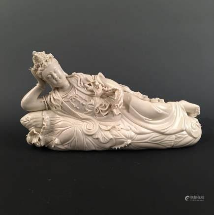 Chinese Porcelain Buddha Figure