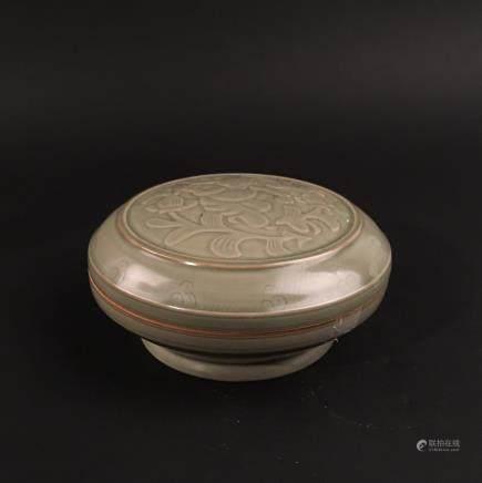 Chinese Yaozhou Kiln Porcelain Box