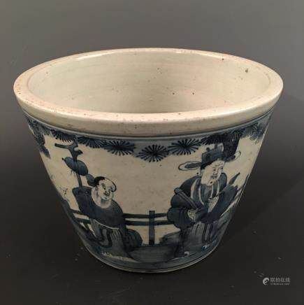 Chinese Blue-White Container