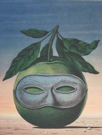 Rene Magritte Belgian Signed Litho 150/200