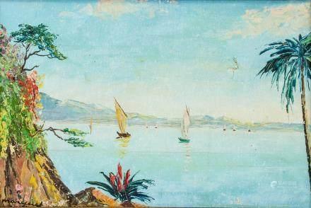 Albert Marquet French Modernist Oil on Canvas