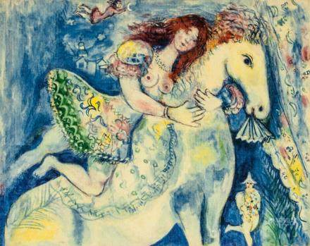 Marc Chagall Russian-French Signed Litho 31/100