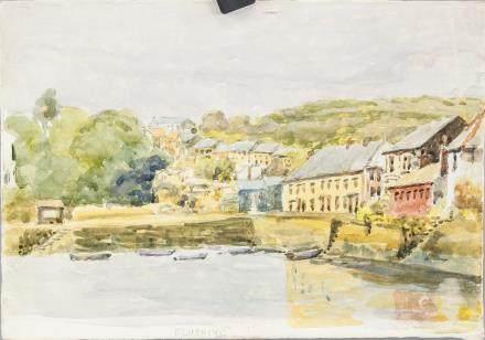 Winifred Nicholson British Watercolor/Paper
