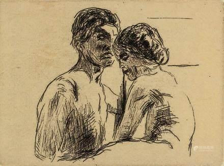 Edvard Munch Norwegian Signed Litho 31/75