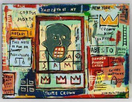 Jean-Michel Basquiat US Pop Acrylic on Canvas