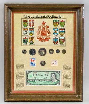 1967 Canadian Centennial Collection Showcase