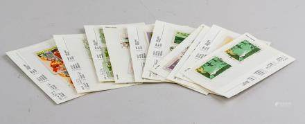28 Assorted North Korean Stamps