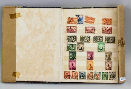 Old Collection Booklet of World Stamps