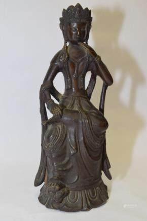 18-19th C. Japanese Kwanyin Figure